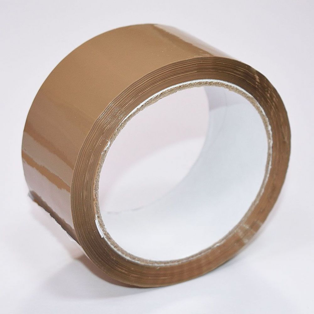 Brown Parcel/Packaging Tape 50mm x 66m